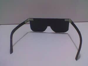 De binnenkant van de bril