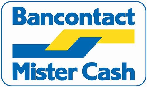 Rasterbril belgie afrekenen met bancontact mister Cash